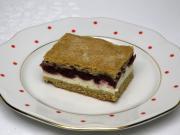 Twarogowe ciasto z wiśniami
