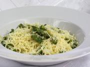 Spaghetti ze szparagami