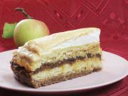 Przekładany jabłkowy tort
