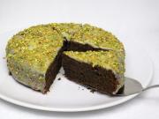 Czekoladowo makowy tort